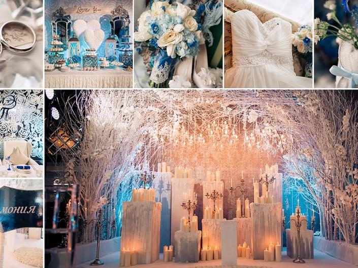 Стилистика свадьбы и декор
