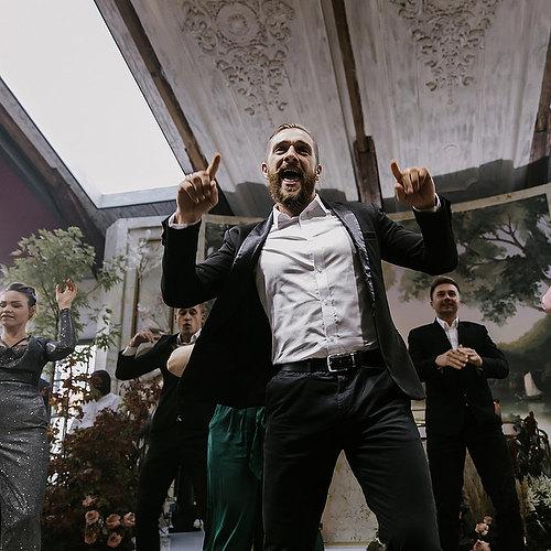 Флэшмоб и первый танец