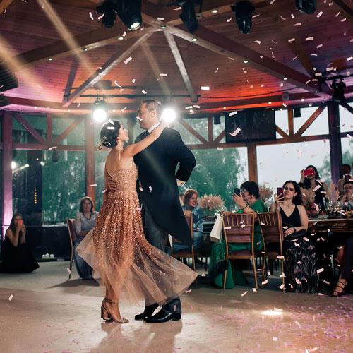 Первый танец и флэшмоб